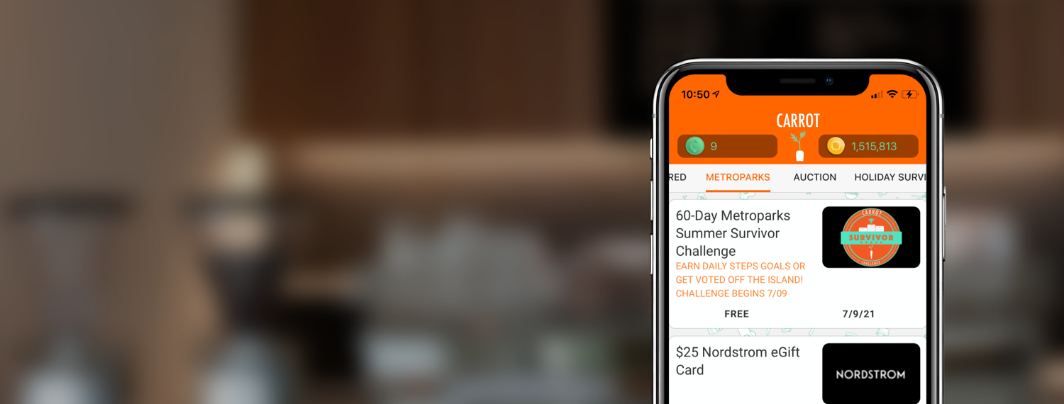 How to INSTALL, login, and Join A CARROT CHALLENGE.